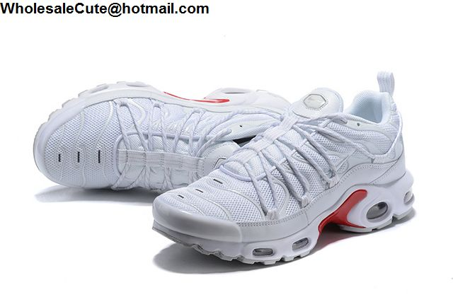 differently c87bf 2d9ca Nike Air Max Plus White Red