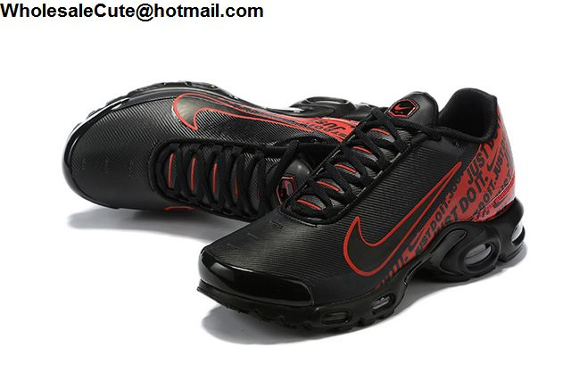 Nike Air Max Plus Just Do It Black Red