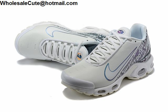 Nike Air Max Plus Just Do It White Blue