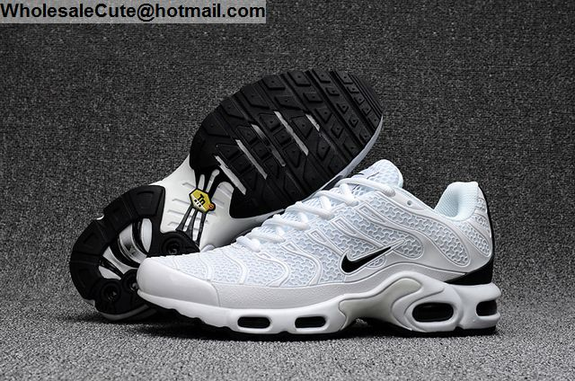 Air Max Plus TXT White Black