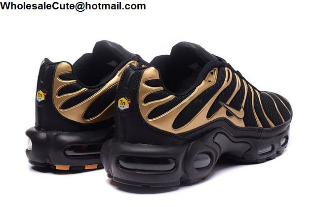 Nike Air Max TN Black Gold