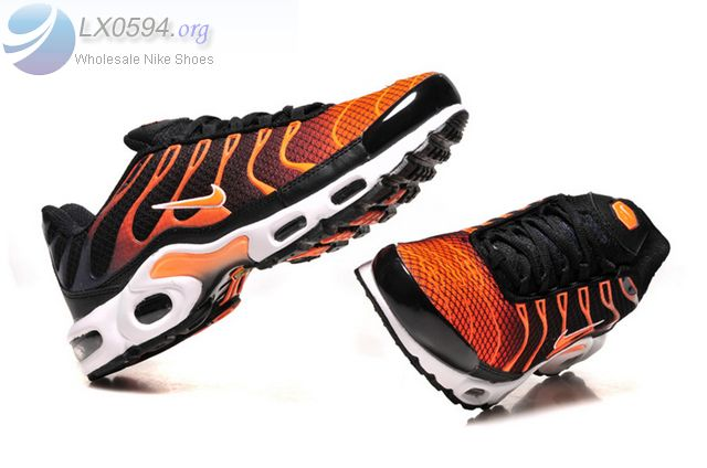 Nike Air Max Plus Black Orange