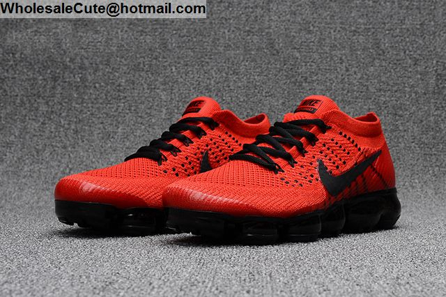 Nike Air VaporMax Red Black