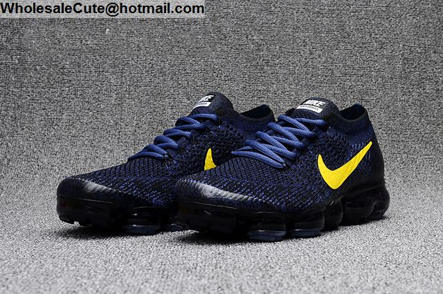 Nike Air VaporMax Dark Blue Yellow