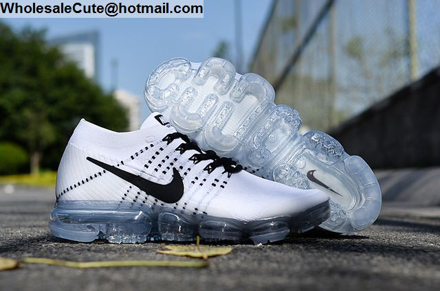 Nike Air VaporMax White Black