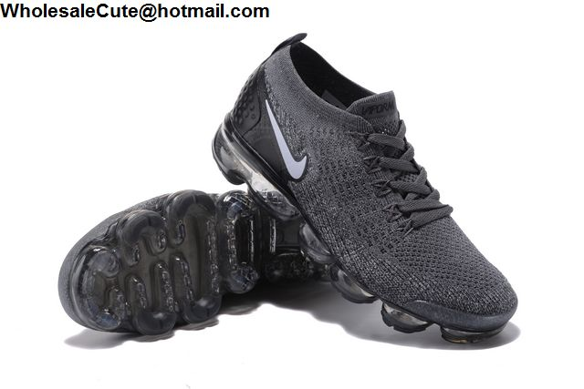Nike Air VaporMax Flyknit Grey Black