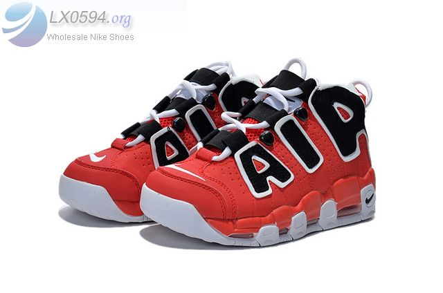 Nike Air More Uptempo Red