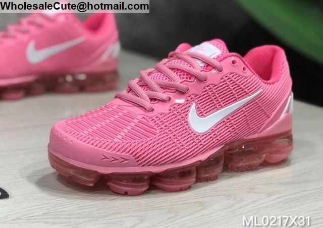 vapormax pink and white