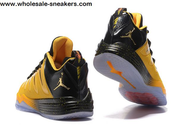 Jordan CP3 IX Yellow