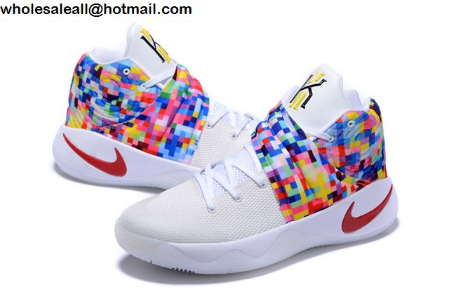online store 9c394 5d000 low price nike kyrie 2 white rainbow e4277 1c1fb