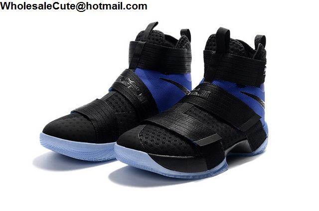 Nike Lebron Soldier 10 Black Blue