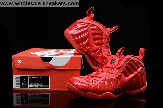 Gym Red Nike Air Foamposite Pro