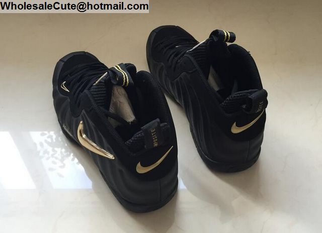 Nike Air Foamposite One Black Gold