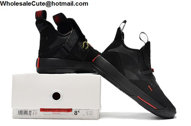 Air Jordan XXXIII Black Red