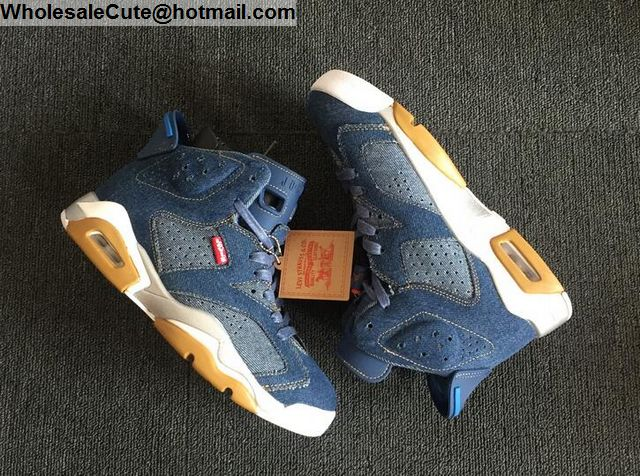Air Jordan 6 Blue Denim