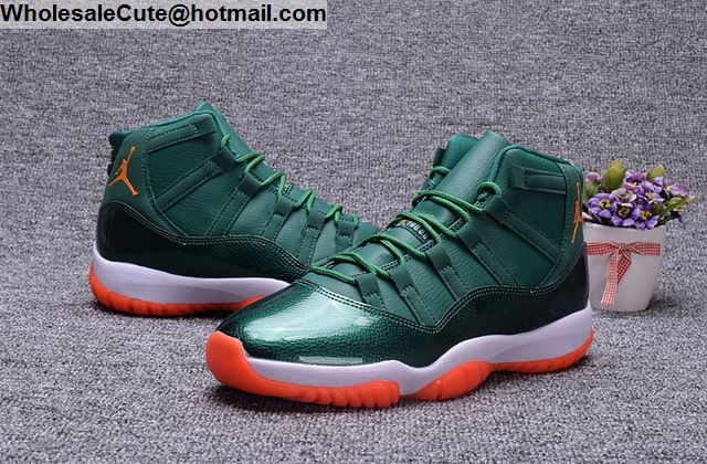 Air Jordan 11 Miami Hurricanes PE