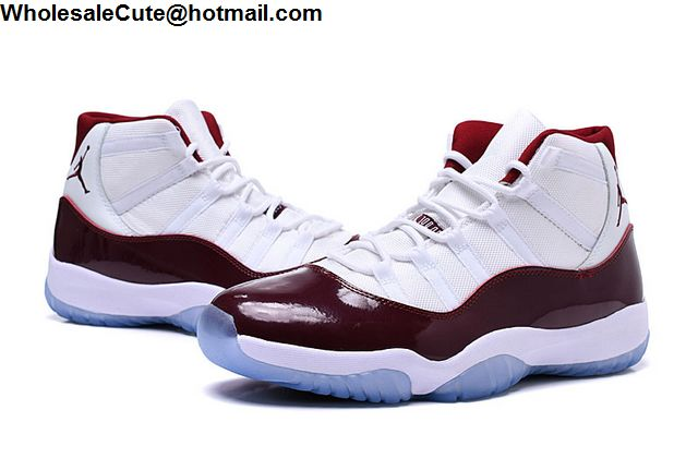 Air Jordan 11 Wine Red