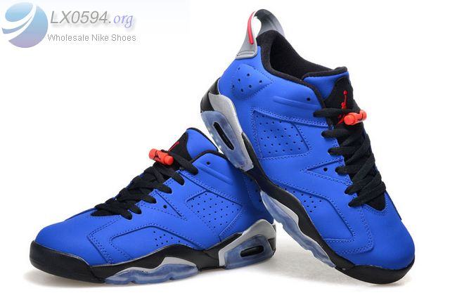 Air Jordan 6 Low Blue