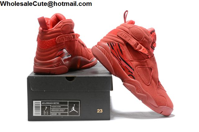 size 40 44266 e5440 Air Jordan 8 Valentines Day Mens Basketball Shoes -16788 ...