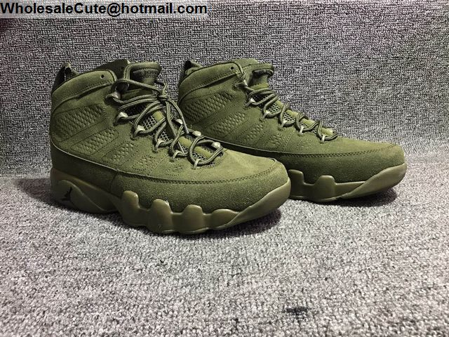 Air Jordan 9 Army Green