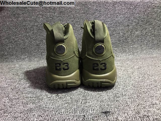 Air Jordan IX Army Green