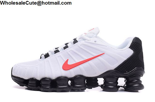 Nike Shox TLX White Black Red