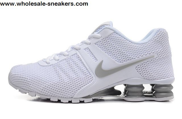 Nike Shox Current White