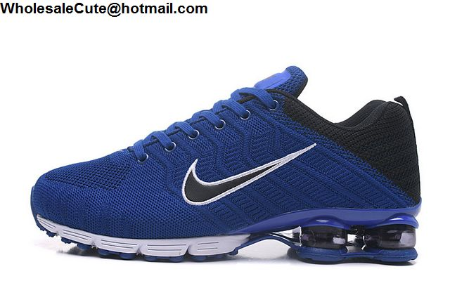 Nike Shox Blue White Black