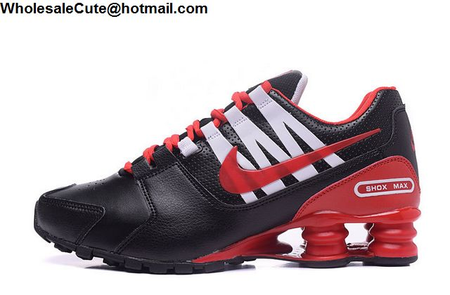 Nike Shox Avenue Black Red White