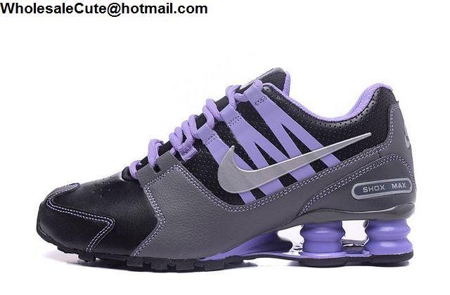 Nike Shox Avenue Black Purple