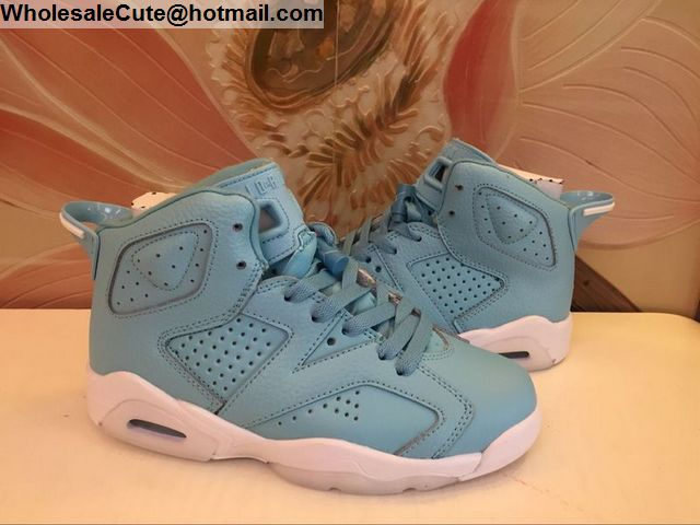 Air Jordan 6 Powder Blue