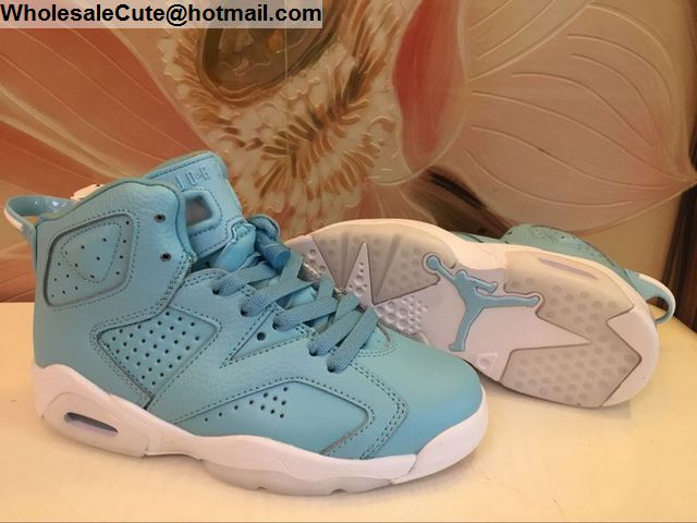 Powder Blue Air Jordan 6